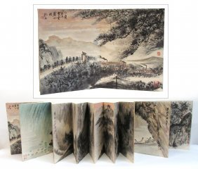Fu Baoshi Painting Book