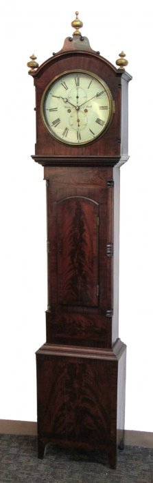Scottish 19th C. Tall Case Clock By James Coutts
