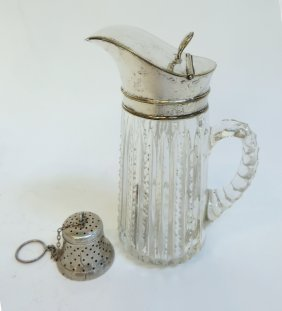 Syrup Dispenser And Tea Strainer