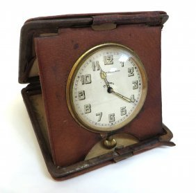 Art Deco Travel Clock From Caldwell & Co.