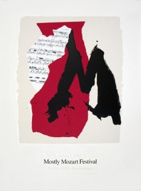 1991 Motherwell Mostly Mozart Festival Serigrap