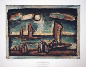 Rouault Christ And The Fishermen Poster