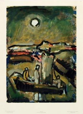 Rouault Clair De Lune (Paysage Biblique) Poster