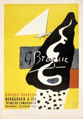 1953 Braque Graveur Lithograph