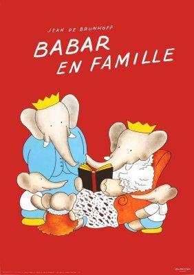 100 Brunhoff Babar En Famille Posters