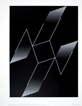 1988 Albers Structural Constellation Poster
