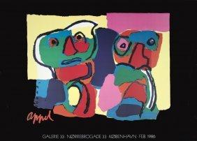 1986 Appel Galerie 33 Poster