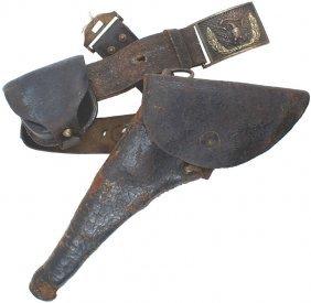 U.S. M1851 Dragoon Saber Belt Eagle Plate