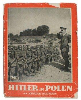 Adolf Hitler Library Book HITLER IN POLEN