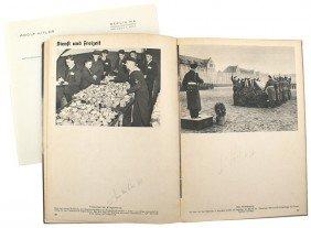Adolf Hitler Library Book KRIEGS-MARINE IN DRITTEN