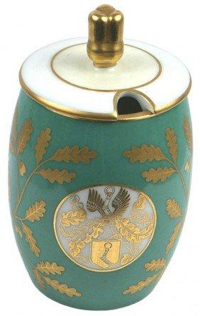 Hermann Goring Sevres Porcelain Condiment Jar