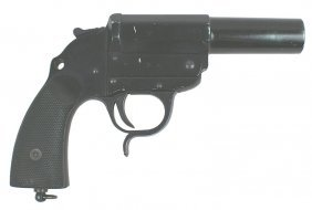 German WWII Army Flare Pistol