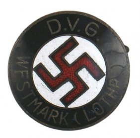 German WWII NSDAP Regional Member Badge