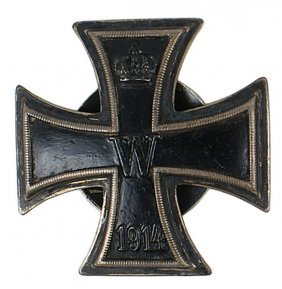 German WWI 1914 Iron Cross 1st Class