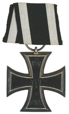 German WWI 1914 Iron Cross 2nd Class