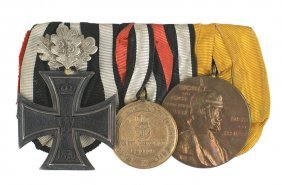 German Franco Prussian War Medal Bar