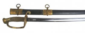 U.s. Naval Officer M1852 Sword