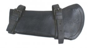 Civil War Black Leather Carbine Boot