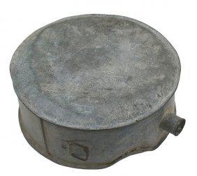 Large Civil War Confederate Tin Canteen