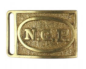 Pennsylvania National Guard Belt Buckle