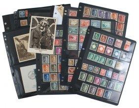 Third Reich Stamp Collection German Wwii