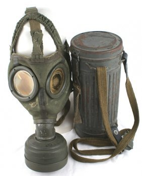 German Wwii Navy Gas Mask