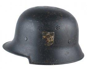 German Wwii Helmet Fire Police Department
