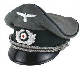 German Wwii Army Pioneer Peaked Cap