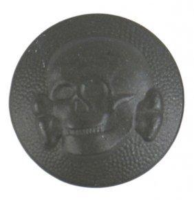 German Wwii Waffen Ss Totenkopf Button