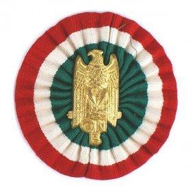 Italian Fascist Youth Corps Pith Helmet Insignia