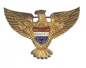 U.s. Womens Voluntary Services Eagle