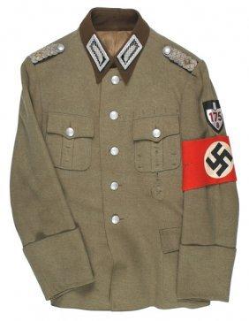German Wwii Rad Labor Corps Tunic