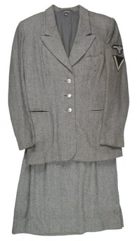 German Wwii Waffen-ss Concentration Camp Uniform
