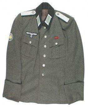 German Wwii Mountain Troops Tunic