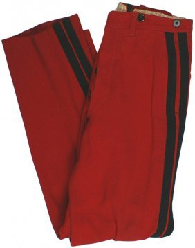 French Wwi Military Cadet Trousers