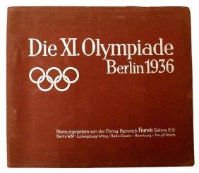 German Book Die Xi Period Olympiade Berlin 1936