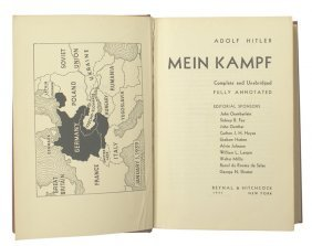 American English Translation Of Mein Kampf