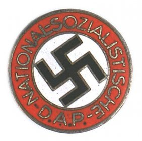 German Wwii Nsdap Member Badge