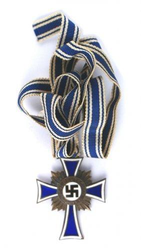 German Wwii Mothers Cross Bronze