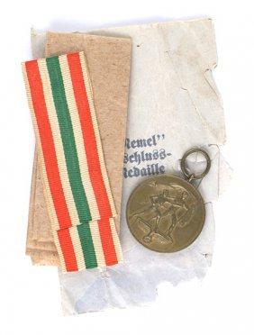 German Wwii Memel Occupation Medal