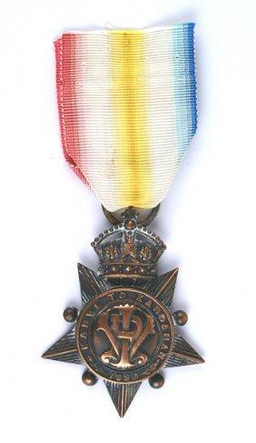 British Kabul To Kandahar Star Medal