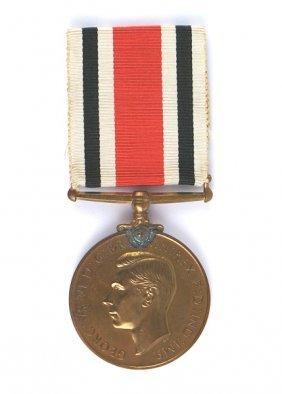 British George Vi Constabulary Medal