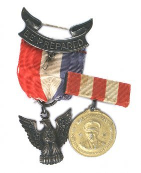 Lot Of 2 American Boy Scout Medals