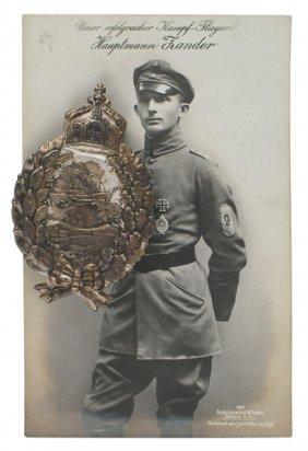 Imperial German Prussian Pilot Badge