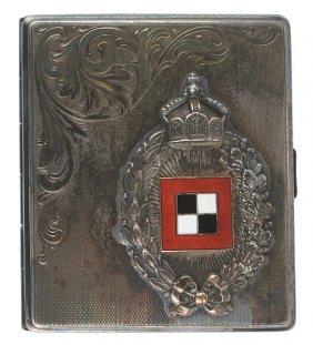 German Cigarette Case Prussian Observer