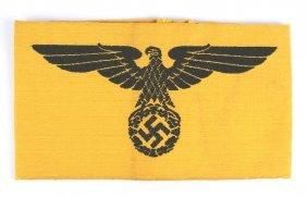 German Wwii Government Service Armband