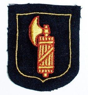 German Wwii Italian Waffen - Ss Sleeve Shield