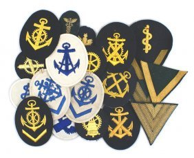 Lot Of 23 German Wwii Kriegsmarine Badges