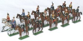 Imperial German Heyde Dresden Toy Soldiers