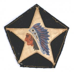 U.s. Wwi Marine Corps 2nd Division Patch